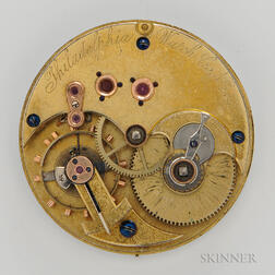 """Philadelphia Watch Co. """"Paulus"""" Movement and Dial"""