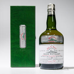 Brora 29 Years Old 1972, 1 70cl bottle (pc)
