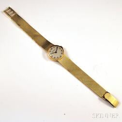 Lady's 14kt Gold Concord for Cartier Bracelet Wristwatch