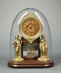 "Ansonia Crystal Palace No. 1 ""Extra"" Mantel Clock"