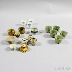 Twenty-three Sake Cups