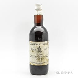 Madeira (Shipped by Cossart, Gordon & Co., Bottled by Evans, Marshall & Co.) Centenary Bual Solera 1845, 1 bottle