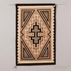 Navajo Two Grey Hills Weaving