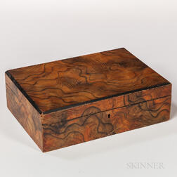 Grain-painted Document Box