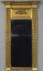 Federal Gilt Wood and Gesso Pier Mirror
