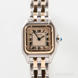 "Cartier Two-tone ""Panthere"" 1120 Wristwatch"