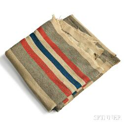 Blanket Carried by Samuel G. Gilbreth, 1st Company of Massachusetts Sharpshooters