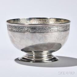 George III Sterling Silver Bowl