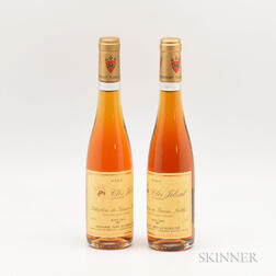 Zind Humbrecht Pinot Gris Clos Jebsal Selection de Grains Nobles 2001, 2 demi bottles