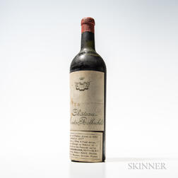 Chateau Mouton Rothschild 1928, 1 bottle