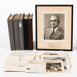 The Alfred Shepard Boote Autograph Collection.