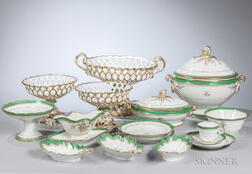 246-piece Limoges Porcelain Dinner Service