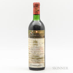 Chateau Mouton Rothschild 1971, 1 bottle