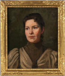 Boston School, 19th/20th Century      Portrait of Dora Dall Breding