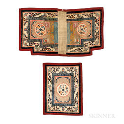 Tibetan Saddle Rug Set