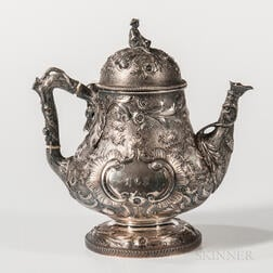 George Sharp Coin Silver Coffeepot