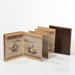 Painting Album Depicting the Twenty-four Generals of Takeda Shingen