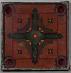Painted Carrom Game Board