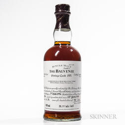 Balvenie Vintage Cask 45 Years Old 1951, 1 750ml bottle