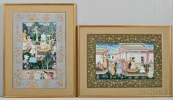 Two Mughal Paintings