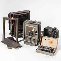 Two Large Format Cameras and a Busch Verascope