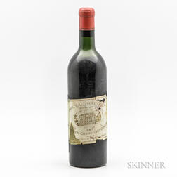 Chateau Margaux 1957, 1 bottle