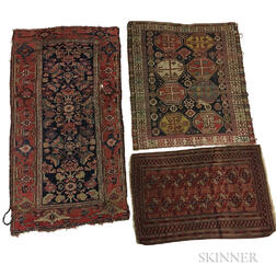 Three Small Rugs