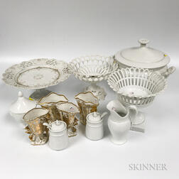 Small Group of Porcelain Items