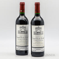 Chateau Leoville Las Cases 2000, 2 bottles