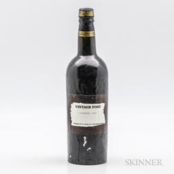 Cockburn Vintage Port 1908, 1 bottle