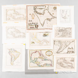 Thirty-five Maps of Central and South America