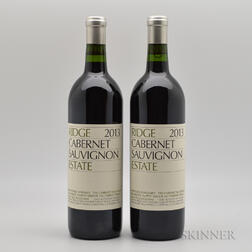 Ridge Cabernet Sauvignon Estate 2013, 2 bottles