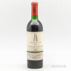 Chateau Latour 1966, 1 bottle