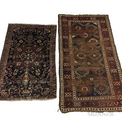 Two Scatter Rugs