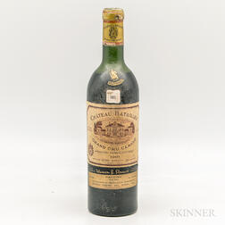 Chateau Batailley 1961, 1 bottle