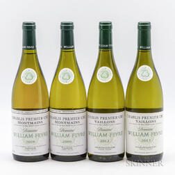 William Fevre, 4 bottles