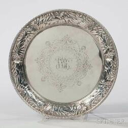 Kennard & Jenks Sterling Silver Salver