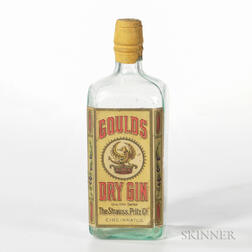 Goulds Dry Gin, 1 4/5 quart bottle