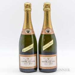 Godme Rose Brut Grand Cru Champagne des Villages, 2 bottles