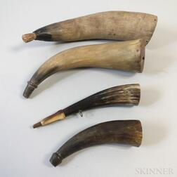 Four Powder Horns
