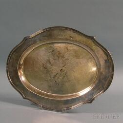 Roger Williams for Chester, Billings & Son Oblong Sterling Silver Tray