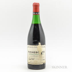 Domaine de la Romanee Conti Richebourg 1972, 1 bottle