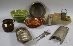 Group of Country Kitchenware
