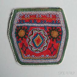 Seneca Beaded Cloth Bag