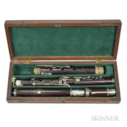 English Eight-keyed Flute, Willis & Goodlad, c. 1830