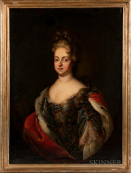 French School, 19th Century      Portrait of an Aristocratic Lady