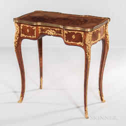Louis XV-style Ormolu-mounted Kingwood- and Tulipwood-Veneered Desk