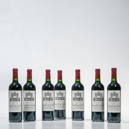 Chateau Leoville Las Cases 2005, 7 bottles