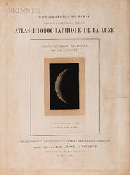 Maurice Loewy (French, 1833-1907), Pierre-Henri Puiseux (French, 1855-1928)      Fourteen Plates from Atlas Photographique de la Lune