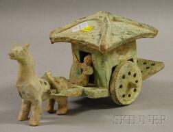 Straw-glazed Granary Cart